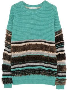 ShopStyle: Dagmar Liv merino wool-blend sweater