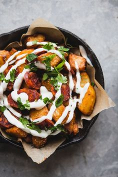 Pump up your potatoes with this Patatas Bravas recipe! This one-pan, Spanish recipe gives you a bold new way to prepare a classic side dish. These spuds make for a super simple accompaniment to any lunch, dinner, or even an appetizer spread.