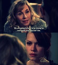 Bethany Joy Lenz was absolutely phenomenal in the scenes with Haley's Mum's illness.