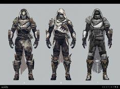 ArtStation - Neoteric kiyot armor for destiny Zaki zou Destiny Comic, Destiny Game, Fantasy Character Design, Character Concept, Character Art, Futuristic Armour, Futuristic Art, Armor Concept, Concept Art