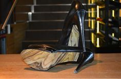 "the shoe-tattoo ""wood"" Shoe Tattoos, High Heels, Shoes Heels, Wood, Collection, Decor, Madeira, Decoration, Decorating"
