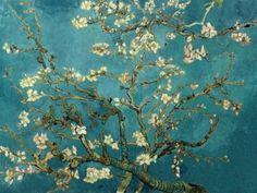 Vincent Van Gogh >> Branches with Almond Blossom. my favorite van gogh painting Theo Van Gogh, Van Gogh Pinturas, Vincent Van Gogh, Flores Van Gogh, Van Gogh Tapete, Van Gogh Wallpaper, Wallpaper Murals, Chinoiserie Wallpaper, Bedroom Wallpaper