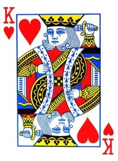 king of hearts is my favorite card, I enjoy playing cards and magic tricks, plus i always kinda wondered why they decided to have him stabbing himself? it just makes me think. Hearts Playing Cards, Playing Cards Art, King Of Hearts Card, Queen Of Hearts, Reference Images, Art Reference, Las Vegas, Image King, Graffiti