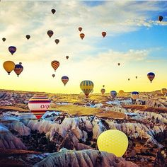 Capadokia, Turkey