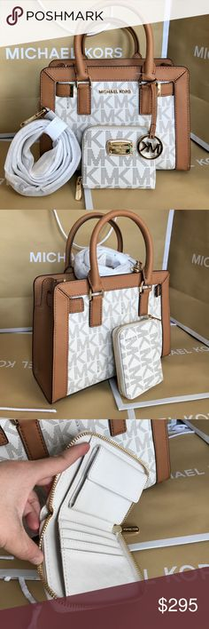 7ecf15f69171 🌴Michael Kors Set🌴 100% Authentic Michael Kors Purse Crossbody and  Wallet