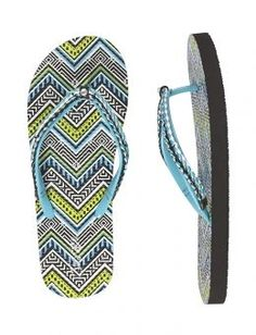 Shop Chevron Braided Flip Flops and other trendy items at Justice. Cute Flip Flops, Girls Flip Flops, Flip Flop Shop, Shop Justice, Flounce Bikini, Girls Sandals, Clearance Shoes, Tween Girls