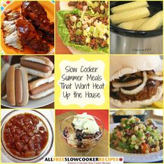 """Summer Meals That Won't Heat Up The House: 30 Summer Slow Cooker Recipes"" Free eCookbook"
