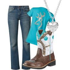 Country girl i want to find the shirt. i know where the boots are located at Cute Country Outfits, Country Wear, Country Girl Style, Western Outfits, My Style, Country Life, Redneck Clothes, Camo Clothes, Camo Outfits
