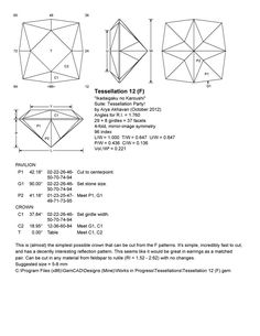Akhavan - Tessellation 12 (F) - The Gemology Project Rock Collection, My Precious, Jewelry Art, Jewellery, Topaz, Carving, Gemstones, Emerald Cut, Fossils