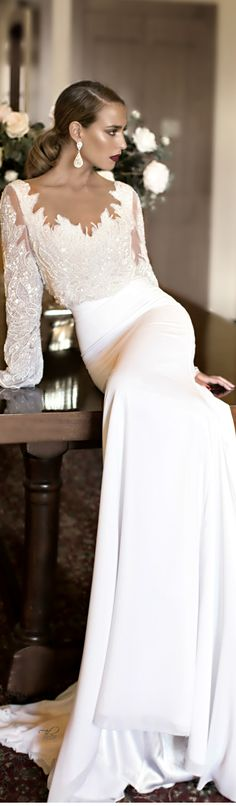 Stunning White Gown. wedding dress #weddingdress . http://thepageantplanet.com/category/pageant-wardrobe/