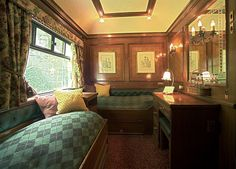 Gypsy Living Traveling In Style| Serafini Amelia| Travel by Rail-Train Chartering - Royal Scotsman, cabin