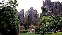 Shilin Stone Forest in China. An interesting destination when you travel to Kunming
