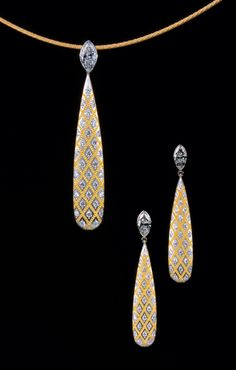 Zoltan David  Necklace and Earrings