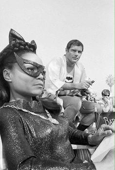 Eartha Kitt as Catwoman on the TV series Batman