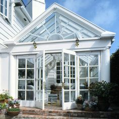 Sun Room Greenhouse-if I only we lived in a neighborhood where I wanted to stay for life!