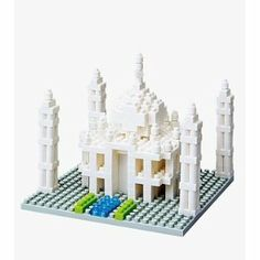 "NanoBlocks Taj Mahal 6"" by NanoBlocks by NanoBlocks. $20.00. Includes detailed color instructions.. Collect, build and display your works of art.. Micro-sized building blocks will enable you to execute even the finest details like never before. Not compatible with Lego blocks. A 3D work of art creates details with assorted sizes and colored pieces. You don?t have to be an engineer to create with nanoblock! With these micro-sized building blocks, 3D buildings are..."