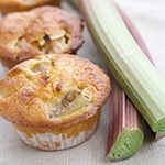 Rhubarb Muffins. All phases.