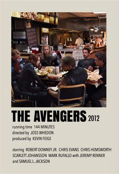 Marvel Movie Posters, Iconic Movie Posters, Avengers Poster, Minimal Movie Posters, Marvel Films, Avengers Movies, Avengers 2012, Mini Poster, Film Poster Design