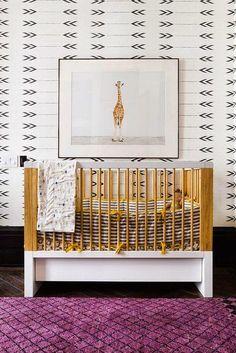 sweet nursery room // #nursery #baby