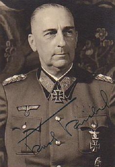 ✠ Karl Kriebel (February 26th, 1888 - November 28th, 1961) RK 04.07.1940 Generalmajor Kdr 56. Inf.Div