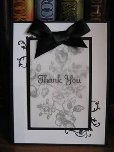 Cards made at a black and white SU workshop by cards4meagain - Cards and Paper Crafts at Splitcoaststampers