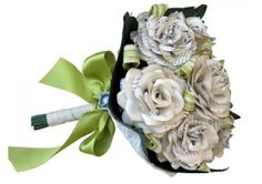 Music Sheet Roses - Wedding Bouquet - TheWeddingMile.com