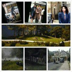 Collage of the scenes so far