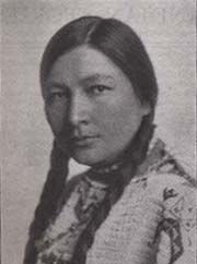 Gertrude Simmons Bonnin, Zitkala-sa (Red Bird), born in 1876, on the Pine Ridge Reservation in South Dakota,  was an extraordinarily talented and educated Native American woman who struggled and triumphed in a time when severe prejudice prevailed toward Native American culture and women. Her talents and contributions in the worlds of literature, music, and politics challenge long-standing beliefs that the white man's culture is good, and Native Americans are sinful savages.