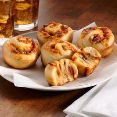 Grande Cheesy Pepperoni Pinwheels    #appetizer #recipe #pizza