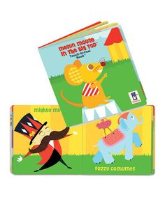 Take a look at this Mason Mouse in the Big Top Board Book by Manhattan Toy on #zulily today!
