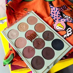 Pixi x It's Judy Time eyeshadow palette - pretty warm toned eyeshadows