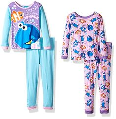 online shopping for Disney Girls' Finding Dory Cotton Pajama Set from top store. See new offer for Disney Girls' Finding Dory Cotton Pajama Set Disney Finding Dory, Finding Nemo, Toddler Girl Gifts, Clothing Tags, Popular Girl, Sleepwear Sets, Cotton Pyjamas, Girls Pajamas, Disney Girls