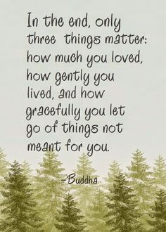 Three things... Well, there are more than these three things, but these are important.