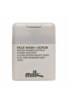 Lækker scrub fra Milk & Co. Perfekt til følsom og irriteret hud.