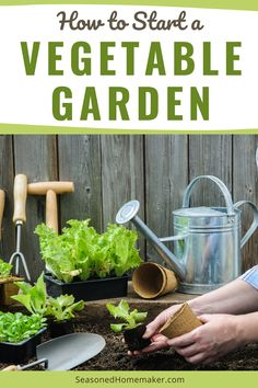 Nothing is more DIY than a vegetable garden. The first thing you need to know is anyone can have a green thumb. It's really all about paying attention to the plants in the garden. Follow these simple steps to start your very own vegetable garden. #vegetablegardeningtips California Pizza Kitchen, Starting A Vegetable Garden, Vegetable Garden Design, Vegetable Gardening, Extensions, Flower Bed Edging, Playground Flooring, Olive Garden, Garden Route