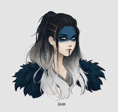 Dungeons And Dragons Characters, Dnd Characters, Fantasy Characters, Female Characters, Fantasy Character Design, Character Design Inspiration, Character Concept, Character Art, Cool Anime Girl