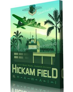 Share Squadron Posters for a 10% off coupon! Hickam Field PACAF Inspector…
