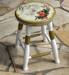 This video is about the transformation of my dining table by using decoupage. This decoupage diy video has step by step directions and tips that I've figured Decoupage Vintage, Decoupage Wood, Decoupage Furniture, Funky Furniture, Repurposed Furniture, Vintage Furniture, Whimsical Painted Furniture, Hand Painted Furniture, Paint Furniture