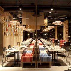 Lah! Restaurant, Madrid, 2011