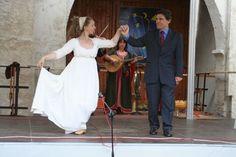 Peter-Pauls-Mahl zu Naumburg Tanz der Bertholdin (Paula Herold ) mit dem französischen Botschafter
