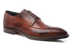 Brown Brogue Derby | MARSAY
