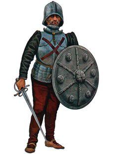 """1510 c. """"Rodelero Spagnolo, primi del XVI Secolo"""""""