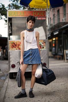 On the Street…West Broadway, New York