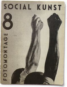 Social Kunst, no. 8, 1932 | Cover by John Heartfield