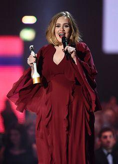 Adele won for Best British Female at the 2016 Brit Awards! Yay!