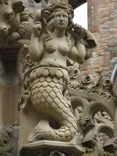 Mermaid, Linlithgow Palace Fountain