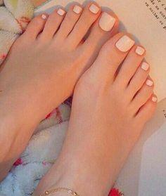 Pretty Toe Nails, Cute Toe Nails, Pretty Toes, Toe Nail Art, Beautiful Toes, Cute Toes, Manicure, Pedicure Nails, Acrylic Toes