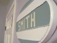 Our Smith sign