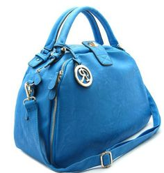 Handbagmadness - RIMEN TOTE BAG BLUE, $19.99…