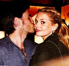 Colin O'Donoghue and Jennifer Morrison.  What's going on here?